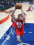New Jersey Nets v Atlanta Hawks: Kris Humphries Photographic Print by Scott Cunningham