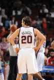 Atlanta Hawks v New Jersey Nets: Sasha Vujacic Photographic Print by David Dow