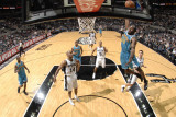 New Orleans Hornets v San Antonio Spurs: Quincy Pondexter Photographic Print by D. Clarke Evans