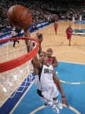 Portland Trail Blazers v Dallas Mavericks: Caron Butler and Dante Cunningham Photographic Print by Glenn James