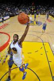 Minnesota Timberwolves v Golden State Warriors: Dorell Wright Fotografisk trykk av Rocky Widner