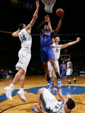 New York Knicks v Washington Wizards: Amar&#39;e Stoudemire, JaVale McGee, Kirk Hinrich and Yi Jianlian Photographic Print by Ned Dishman