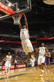 Phoenix Suns v Charlotte Bobcats: Tyrus Thomas Photographic Print by Kent Smith