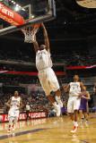 Phoenix Suns v Charlotte Bobcats: Tyrus Thomas Photographic Print by Kent Smith