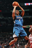 Minnesota Timberwolves v Chicago Bulls: Wesley Johnson and Keith Bogans Photographic Print by Ray Amati