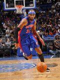 Detroit Pistons v Orlando Magic: Richard Hamilton Photographic Print by Fernando Medina