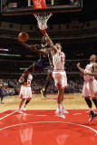 Indiana Pacers v Chicago Bulls: Darren Collison, Joakim Noah and Derrick Rose Photographic Print by Ray Amati