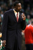 New Jersey Nets v Boston Celtics: Kendrick Perkins Photographic Print by Elsa .