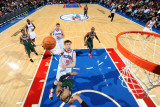 Milwaukee Bucks v Philadelphia 76ers: Andres Nocioni and Drew Gooden Photographic Print by Jesse D. Garrabrant