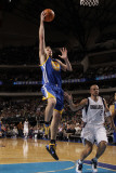 Golden State Warriors v Dallas Mavericks: David Lee and Jason Kidd Photographic Print by Danny Bollinger