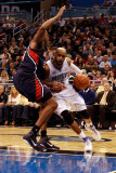Atlanta Hawks v Orlando Magic: Vince Carter and Jason Collins Photographic Print by Sam Greenwood