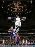Phoenix Suns v Dallas Mavericks: Jason Terry and Grant Hill Photographic Print by Glenn James