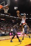 Charlotte Bobcats v Miami Heat: LeBron James Photographic Print by Mike Ehrmann
