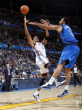 Dallas Mavericks v Oklahoma City Thunder: Thabo Sefolosha and Tyson Chandler Photographic Print by Layne Murdoch