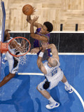 Phoenix Suns v Orlando Magic: Josh Childress and Marcin Gortat Lmina fotogrfica por Fernando Medina