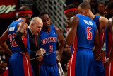 Detroit Pistons v New Orleans Hornets: John Keuster Photographic Print by Chris