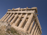 A View of the Parthenon from Below Photographic Print by Richard Nowitz