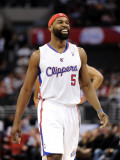 San Antonio Spurs v Los Angeles Clippers: Baron Davis Photographic Print by Harry How