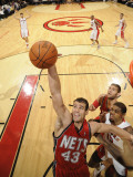 New Jersey Nets v Toronto Raptors: Kris Humphries Photographic Print by Ron Turenne