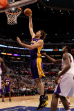 Los Angeles Lakers v Los Angeles Clippers: Pau Gasol Photographic Print by Stephen 