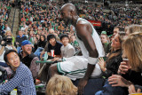 Indiana Pacers v Boston Celtics: Kevin Garnett Photographic Print by Brian Babineau