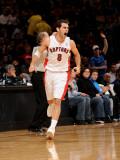 Philadelphia 76ers v Toronto Raptors: Jose Calderon Photographic Print by Ron Turenne