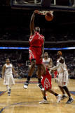 Houston Rockets v Charlotte Bobcats: Jordan Hill Photographic Print by Brock Williams-Smith