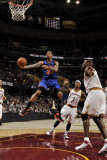 New York Knicks v Cleveland Cavaliers: Wilson Chandler, Daniel Gibson and Antawn Jamison Photographie par David Liam Kyle