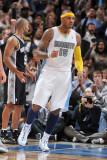 San Antonio Spurs v Denver Nuggets: Carmelo Anthony Photographic Print by Garrett Ellwood
