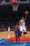 Atlanta Hawks v Detroit Pistons: Rodney Stuckey Photographic Print by Allen Einstein
