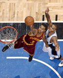 Cleveland Cavaliers  v Orlando Magic: Ramon Sessions and Jameer Nelson Photographic Print by Fernando Medina