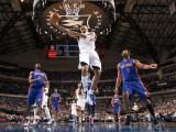 Detroit Pistons v Dallas Mavericks: Shawn Marion, Ben Gordon and Tracy McGrady Photographic Print by Glenn James
