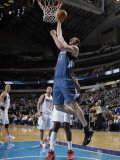 Minnesota Timberwolves v Dallas Mavericks: Kosta Koufos Photographic Print by Danny Bollinger