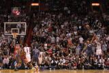 Charlotte Bobcats v Miami Heat: James Jones Photographic Print by Mike Ehrmann