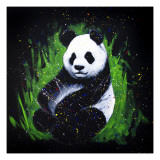 Baby Panda Giclee Print