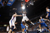 Dallas Mavericks v Oklahoma City Thunder: Jeff Green Photographic Print by Layne Murdoch