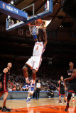 Miami Heat v New York Knicks: Amar&#39;e Stoudemire Photographic Print by Nathaniel S. Butler