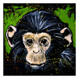 Bonobo Monkey Giclee Print