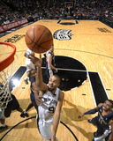 Memphis Grizzlies v San Antonio Spurs: Tony Parker Photo af D. Clarke Evans
