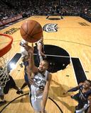 Memphis Grizzlies v San Antonio Spurs: Tony Parker Foto af D. Clarke Evans