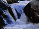 Water Cascading over Smooth Rocks in the Whitewater River Photographic Print by Raymond Gehman