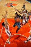 Charlotte Bobcats v New York Knicks: Gerald Wallace and Wilson Chandler Photographic Print by Nathaniel S. Butler
