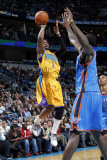 Oklahoma City Thunder v New Orleans Hornets: Chris Paul Photographic Print by Layne Murdoch