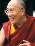 The Dalai Lama Fotografisk tryk af Alison Wright