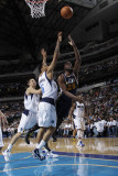 Utah Jazz v Dallas Mavericks: Al Jefferson and Tyson Chandler Photographic Print by Danny Bollinger