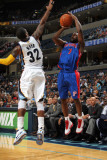 Detroit Pistons v Memphis Grizzlies: Ben Gordon and O.J. Mayo Photographic Print by Joe Murphy