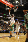 Boston Celtics v Charlotte Bobcats: Gerald Wallace Photographic Print by Kent Smith