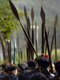 March of the Lonach Highlanders and the Lonach Gathering Photographic Print by Jim Richardson
