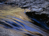 Water Rushing over Stones in the Whitewater River Fotografisk tryk af Raymond Gehman