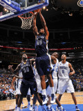 Memphis Grizzlies v Orlando Magic: Darrell Arthur Photographic Print by Fernando Medina